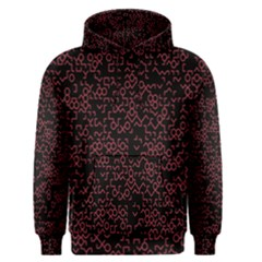 Random Pink Black Red Men s Pullover Hoodie by Alisyart