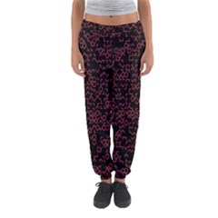 Random Pink Black Red Women s Jogger Sweatpants by Alisyart