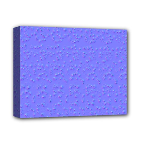 Ripples Blue Space Deluxe Canvas 14  X 11  by Alisyart