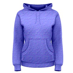 Ripples Blue Space Women s Pullover Hoodie