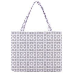 Violence Head On King Purple White Flower Mini Tote Bag by Alisyart