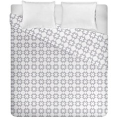 Violence Head On King Purple White Flower Duvet Cover Double Side (california King Size) by Alisyart