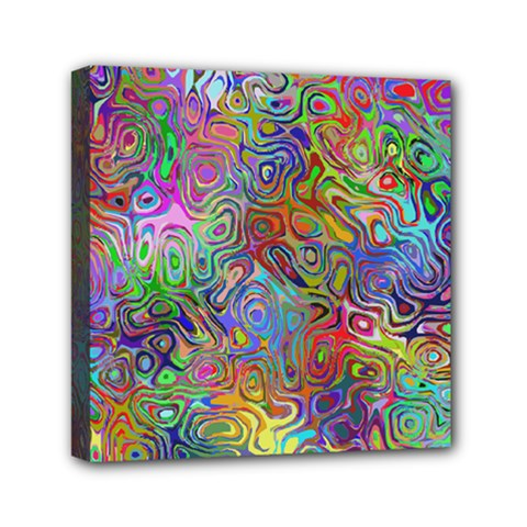 Glass Rainbow Color Mini Canvas 6  X 6