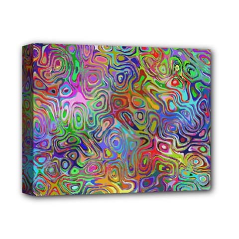 Glass Rainbow Color Deluxe Canvas 14  X 11  by Alisyart