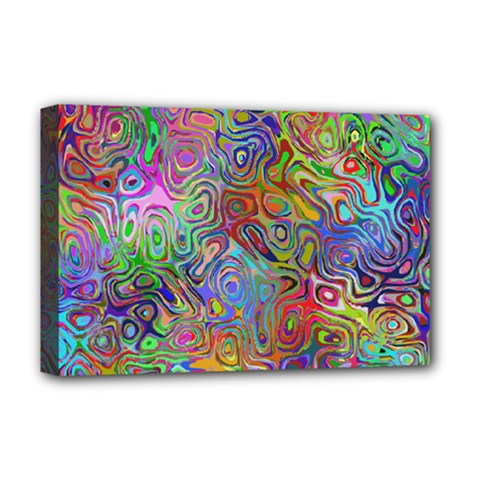 Glass Rainbow Color Deluxe Canvas 18  X 12