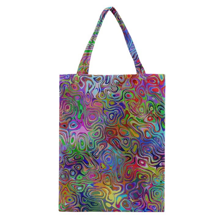 Glass Rainbow Color Classic Tote Bag