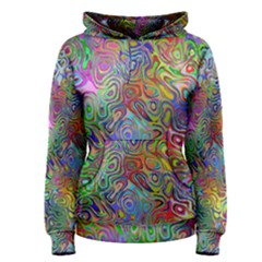 Glass Rainbow Color Women s Pullover Hoodie