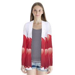 Balloon Partty Red Cardigans