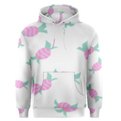 Candy Pink Blue Sweet Men s Pullover Hoodie by Alisyart