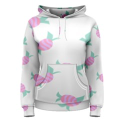 Candy Pink Blue Sweet Women s Pullover Hoodie
