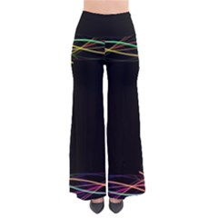 Colorful Light Frame Line Pants