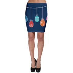 Easter Egg Balloon Pink Blue Red Orange Bodycon Skirt by Alisyart