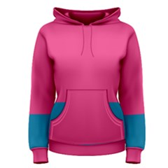 Flag Color Pink Blue Women s Pullover Hoodie