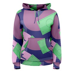 Money Dollar Green Purple Pink Women s Pullover Hoodie