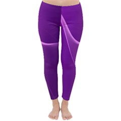 Purple Line Classic Winter Leggings