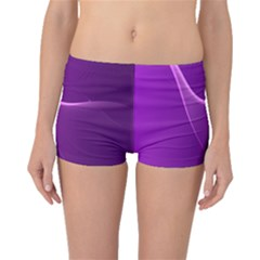 Purple Line Boyleg Bikini Bottoms by Alisyart