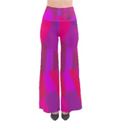 Voronoi Pink Purple Pants by Alisyart
