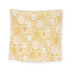 Wheels Star Gold Circle Yellow Square Tapestry (small) by Alisyart
