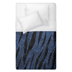 Skin3 Black Marble & Blue Stone (r) Duvet Cover (single Size) by trendistuff