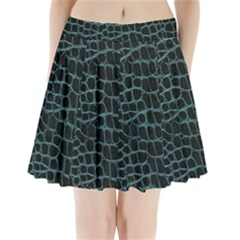 Fabric Fake Fashion Flexibility Grained Layer Leather Luxury Macro Material Natural Nature Quality R Pleated Mini Skirt