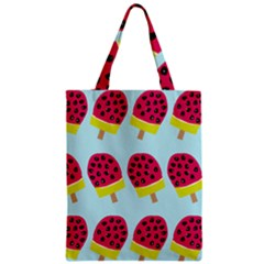 Watermelonn Red Yellow Blue Fruit Ice Classic Tote Bag by Alisyart