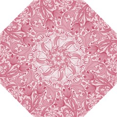 Vintage Style Floral Flower Pink Straight Umbrellas by Alisyart