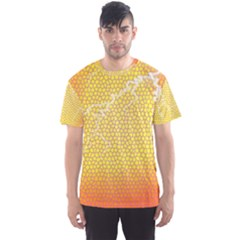 Exotic Backgrounds Men s Sport Mesh Tee by Simbadda