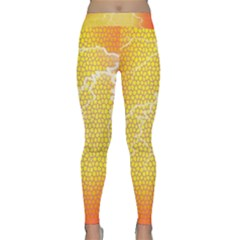 Exotic Backgrounds Classic Yoga Leggings by Simbadda