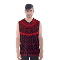 Red Spiral Featured Men s Basketball Tank Top by Alisyart
