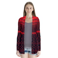 Red Spiral Featured Cardigans by Alisyart