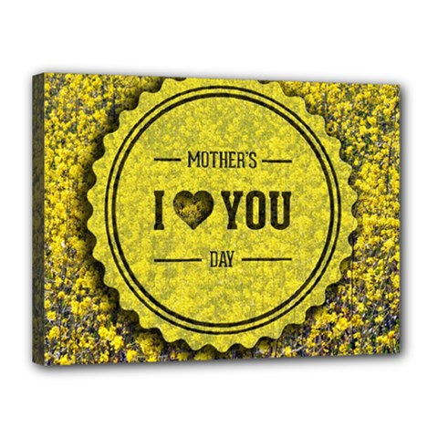 Happy Mother Day Canvas 16  X 12  by Simbadda