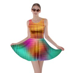 Colourful Weave Background Skater Dress by Simbadda