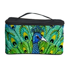 Peacock Bird Animation Cosmetic Storage Case by Simbadda