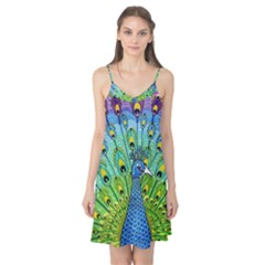 Peacock Bird Animation Camis Nightgown by Simbadda