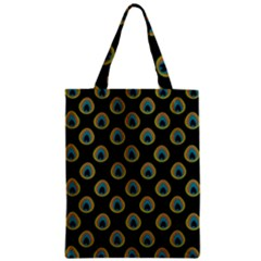 Peacock Inspired Background Classic Tote Bag