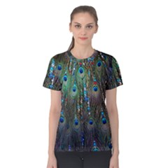 Peacock Jewelery Women s Cotton Tee by Simbadda
