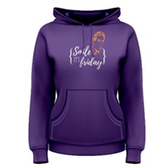 Purple Simile It s Friday Women s Pullover Hoodie by FunnySaying