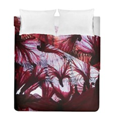Jellyfish Ballet Wind Duvet Cover Double Side (full/ Double Size) by Simbadda
