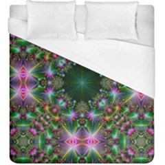 Digital Kaleidoscope Duvet Cover (king Size)