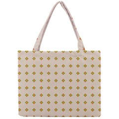 Pattern Background Retro Mini Tote Bag by Simbadda