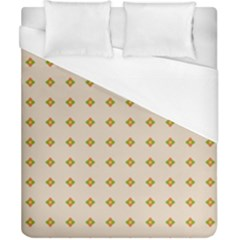 Pattern Background Retro Duvet Cover (california King Size) by Simbadda