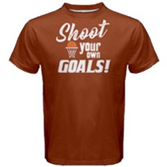 Shoot Your Own Goals   Men s Cotton Tee by FunnySaying