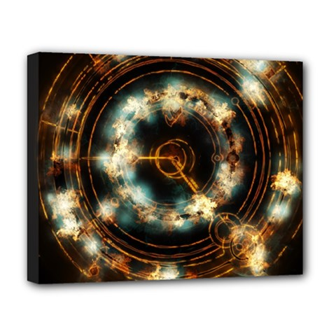 Science Fiction Energy Background Deluxe Canvas 20  X 16   by Simbadda