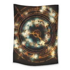Science Fiction Energy Background Medium Tapestry