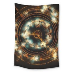 Science Fiction Energy Background Large Tapestry by Simbadda