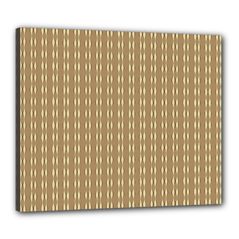 Pattern Background Brown Lines Canvas 24  X 20