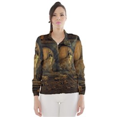 Woman Lost Model Alone Wind Breaker (women) by Simbadda