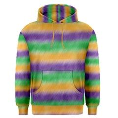 Mardi Gras Strip Tie Die Men s Pullover Hoodie by PhotoNOLA
