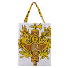 National Emblem Of France  Classic Tote Bag by abbeyz71