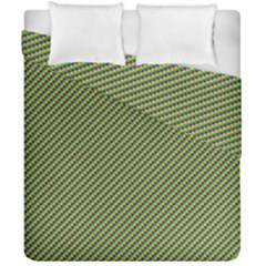 Mardi Gras Checker Boards Duvet Cover Double Side (california King Size) by PhotoNOLA